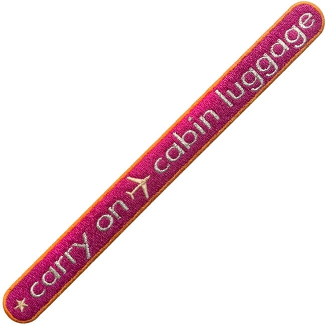 KOFFER PATCH: CARRY ON CABIN LUGGAGE · pink