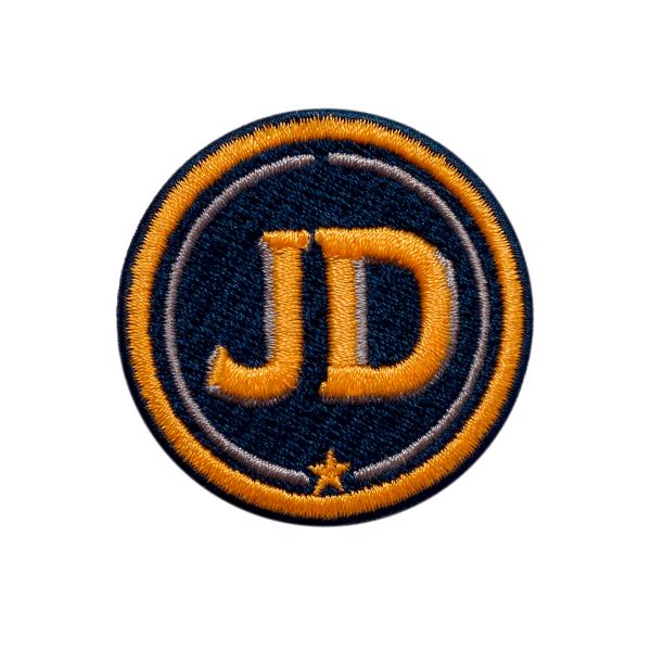 Label INITIALEN · 4cm · gelb/beige · personalisierbar