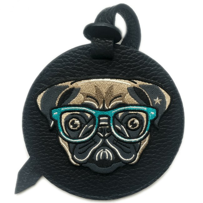 Luggage tag PUG