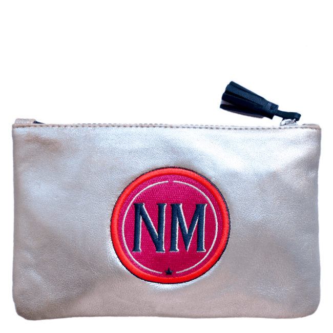 Pouch INITIALS Pink · customizable
