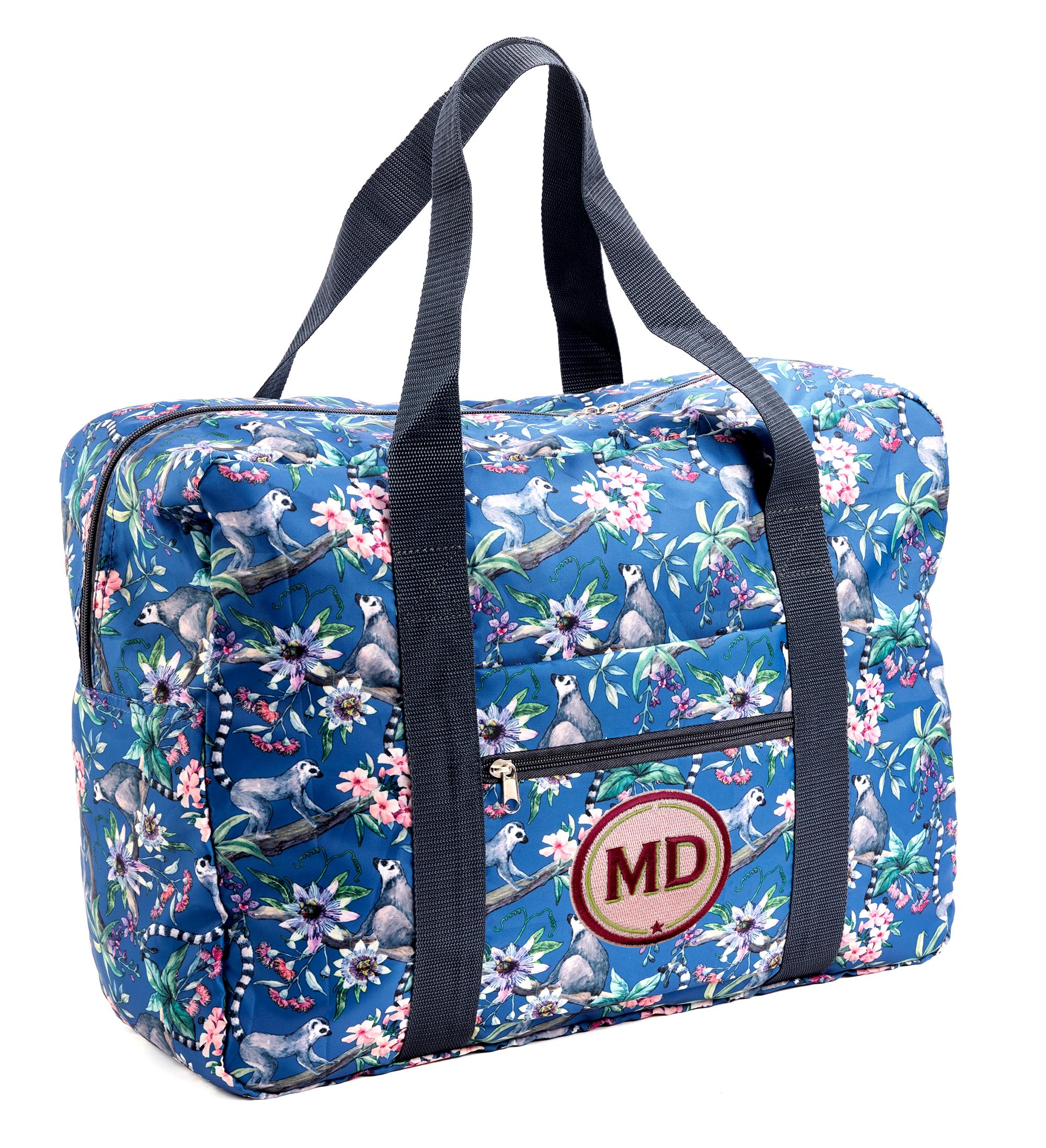 Easy Travel Bag ÄFFCHEN mit Initialen-Patch