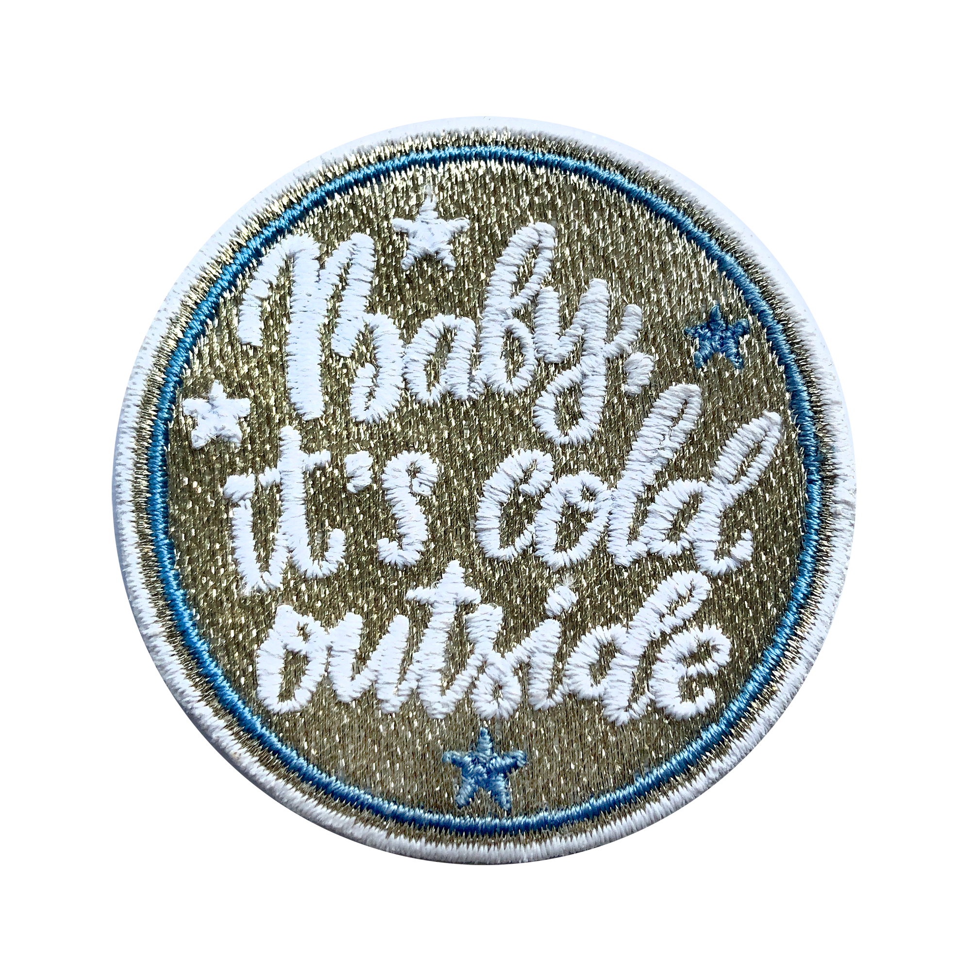 Label BABY IT'S COLD OUT THERE