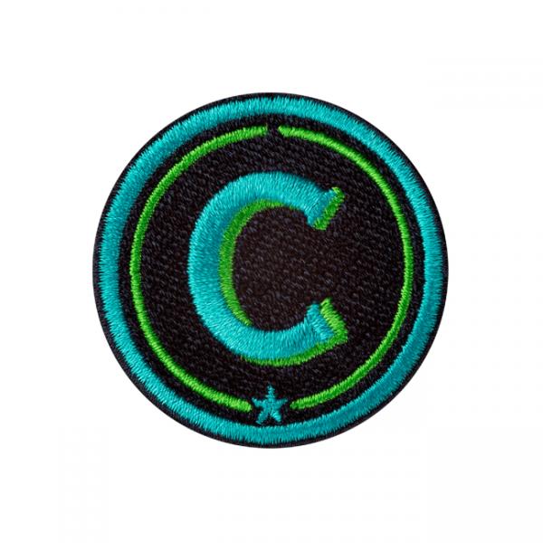 Label ABC · türkis/grün