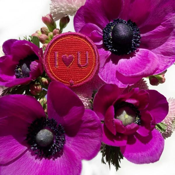 Schlüsselanhänger Love · rot/pink · mit Tassel · personalisierbar